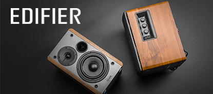 Edifier Speakers - Available Exclusively @Monostereovinyl