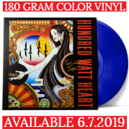 Hundred Watt Heart | Turbulent Times | Clear & Blue Vinyl Available