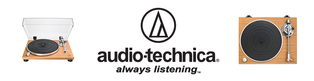 audio technica splash page
