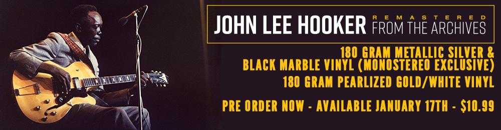 John Lee Hooker | Remastered From The Archives | 180 Gram Metallic Silver & Black Vinyl
