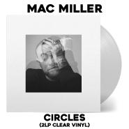 Mac Miller   Circles   2LP Clear Vinyl