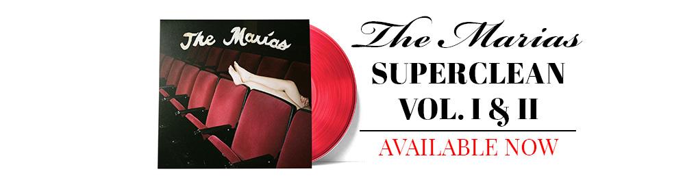 The Marias | Superclean Vol. 1 & 2 | Red Vinyl Exclusive