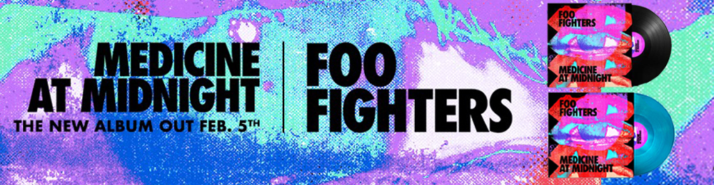 Foo Fighters | Medicine At Midnight | February 5th
